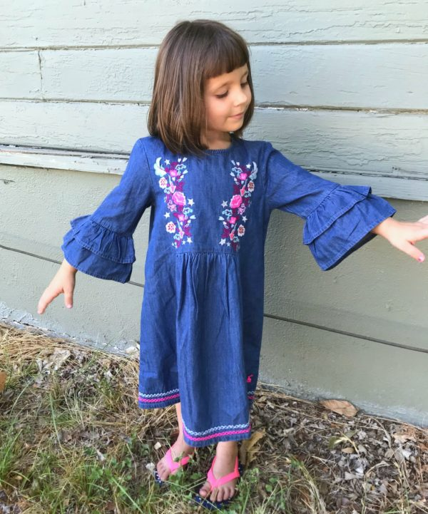 Florence Bell Sleeve Dress by Joules from Stitch Fix Kids