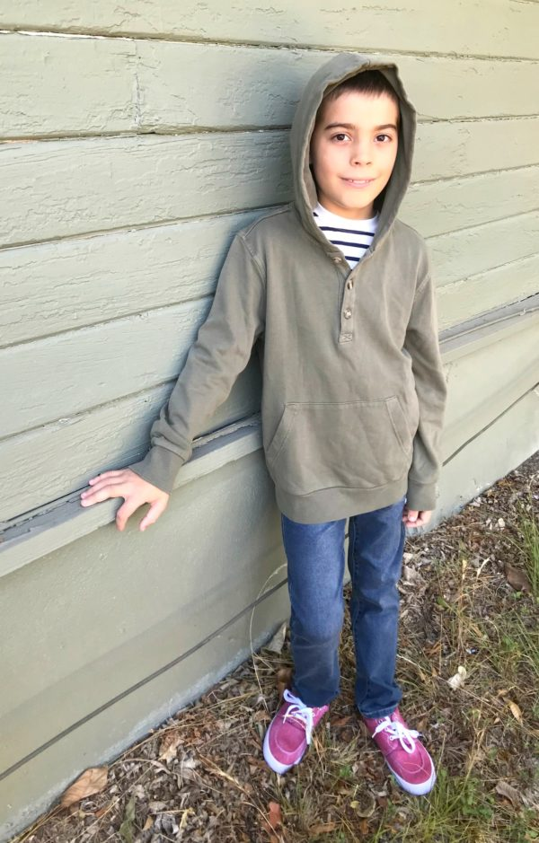 adriano goldschmied kids Rory Kangaroo hoodie, Lazer Fleix Ultra Flex 5 Pkt Slim Denim, Capelli New York Mason Low Top Sneaker Stitch Fix Kids