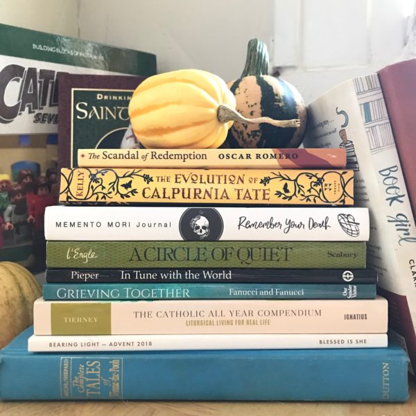 My Fall Reading Stack (and a Giveaway!)