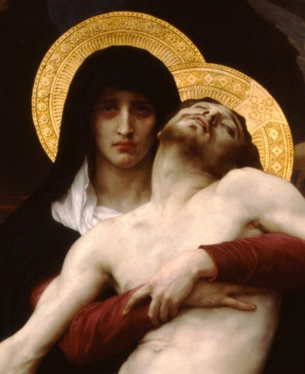 A Mother's Grief at the Stations of the Cross