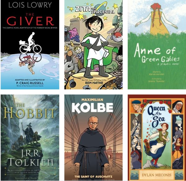 7 High Quality Graphic Novels for Young Readers